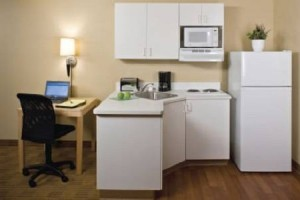Extended Stay America Seattle Tukwila kitchen