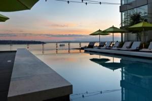 Four Seasons Hotel Seattle pool
